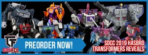 Transformers News: TFSource News - SDCC 2019 Hasbro Reveal Preorders, Newage, MMC Saltus, Sphinx and More!