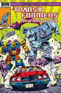Transformers News: Transformers ReGeneration One #0 - Nick Roche on Hot Rod Story