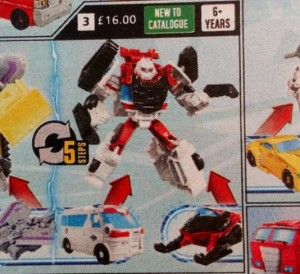 First Image of Transformers Cyberverse Spark Armor Ratchet In Argos Catalogue