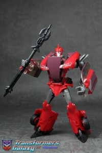 "Transformers Prime ""Robots in Disguise"" Deluxe Knock Out Gallery"