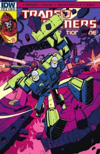 Transformers News: Transformers: ReGeneration One #93 Review