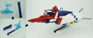 Transformers News: Takara Tomy Transformers Masterpiece MP-24 Star Saber Features: Shield Becomes Stand