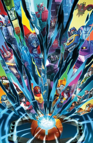 Transformers News: IDW Transformers: Historia Cover by Sara Pitre-Durocher Revealed