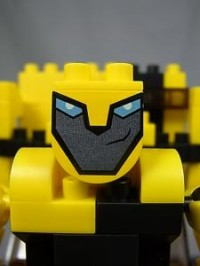 Toy Images of Diablock Animated Bumblebee