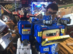 Toys Alliance Mega Action Series 03 Soundwave Revealed and On Display at 2018 Animated Comic-Game Hong Kong #ACGHK