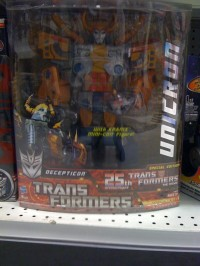 Transformers News: 25th Anniversary Unicron Sighted at Canadian Retail