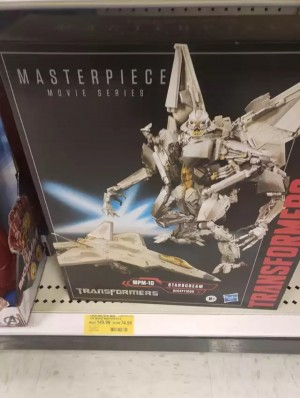 Movie Masterpiece MPM-10 Starscream Found at Clearance Prices