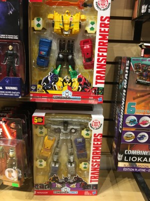 Transformers News: Combiner Force UltraBee and Menasor Spotted in US Stores