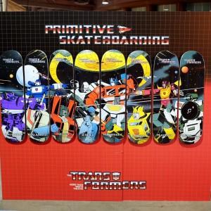 Primitive Skate Transformers G1 Skateboard Decks