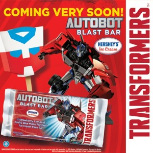 Transformers News: Hershey's Autobot Blast Bar