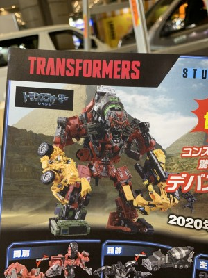 Transformers Studio Series Devastator Fully Combined and First Look at Overload and Scrapper