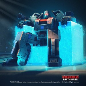 Transformers: Earth Wars - Megatron Enthroned Image