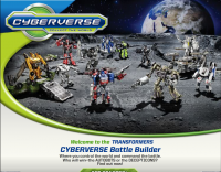 Transformers Cyberverse Battle Builder  and MechTech Weapons Challenge Games