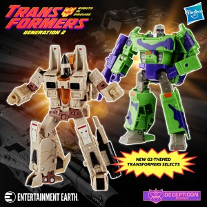 Generations Selects G2 Sandstorm and G2 Megatron officially revealed
