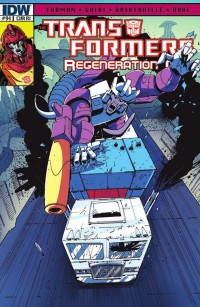 Transformers News: Script (W)rap - Transformers: Regeneration One #94