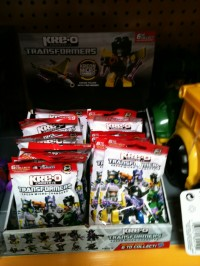 Transformers News: Kreon Micro-Changers Wave One Released at Mass Retail