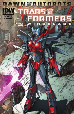 IDW Publishing Transformers: Windblade -  Mairghread Scott And The Ambassador Autobot Interview