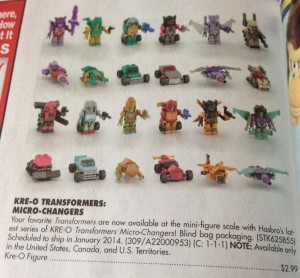 Transformers News: Kre-O Micro-Changers Wave 4 Revealed