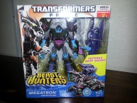 Transformers News: Transformers Prime Beast Hunters Voyager Sharkticon Megatron Hitting Retail