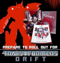 Transformers News: IDW Limited Hardcover Complete Drift Now Available