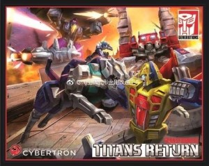 Transformers News: Transformers Titans Return Siege On Cybertron Boxset Artwork Leaked