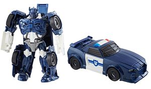 Transformers News: Chuck's Reviews Transformers The Last Knight All Spark Tech Bumblebee and Barricade