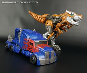 Optimus Prime and Grimlock Quick Change Two Pack Sighted at US Retail