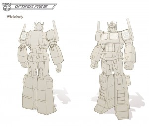 Transformers News: Transformers: Devastation Optimus Prime Concept Art