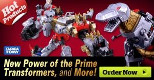 HobbyLinkJapan Sponsor News - New Transformers Power of the Primes Action Figures