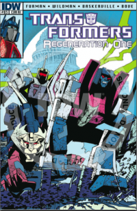 Transformers News: Too Much Circuit Smasher?--Review of Transformers Regeneration #83