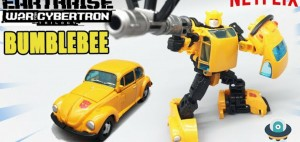 New Video Reviews of Transformers Netflix War For Cybertron Deluxe Class Bumblebee and Elita 1