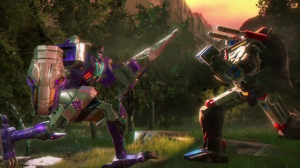Transformers News: New Transformers: Earth Wars Video Showcasing Optimus Primal and Megatron