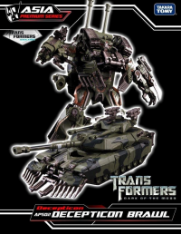 Transformers News: New Look at Asia Exclusive APS-02 Brawl
