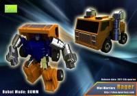 Transformers News: iGear Seaspray and Huffer