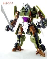 New Images of Headrobots Gyro, Blood, & Hothead