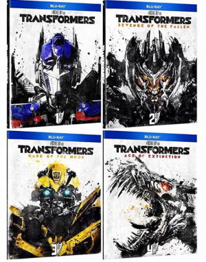 Transformers Live Action Movie Re-release With New Slipcover Editions