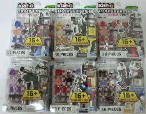 Transformers News: In-Package Images: Transformers Custom Kreons Series 1