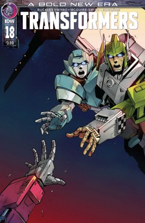 Transformers News: Full Preview for IDW Transformers #18