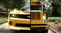 "Transformers News: ""Roll Out in Prime Style"" Campaign: Win A Ride To School In Bumblebee Commercial"