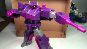 Video Reviews - Transformers Generations Cyber Series Shockwave and Sideswipe