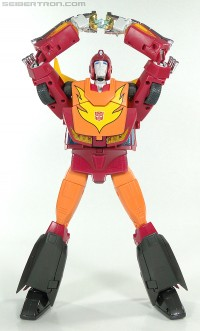 Transformers News: MP-09 Masterpiece Rodimus Second Version