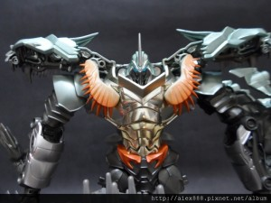 Transformers News: In-hand Images of Movie Advanced AD-20 Black Knight Grimlock