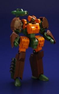 Transformers News: Official Images: Art Storm Super Deformed EM Gokin 08 Mugen Calibur and EM Alloy 01 Mugen Calibur Roadbuster Repaints