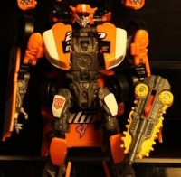 Transformers News: DOTM Deluxe Roadbuster and Optimus Prime Repaints Unveiled!
