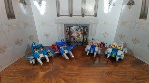 Video Review for Takara Transformers  Legends LG65 Twin Twist & LG66 Topspin with Comparisons