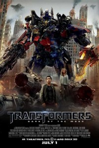 New Transfomers Dark of the Moon Poster on Yahoo! Movies