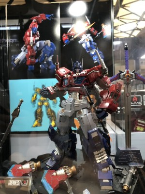 Transformers News: New Officially Licensed Transformers Model Kits From Flame Toys