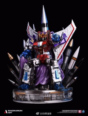 Transformers News: Imaginarium Art Transformers Coronation Starscream Shanghai Comic Con Exclusive Variant Revealed