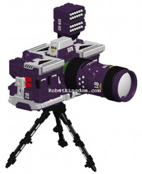 Transformers News: Perfect Effect Camera Set-PE-11- Alternate Camera Mode Revealed