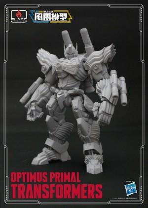 Transformers News: Flame Toys Furai Model Kit IDW Rodimus, Optimus Primal, Windblade Revealed